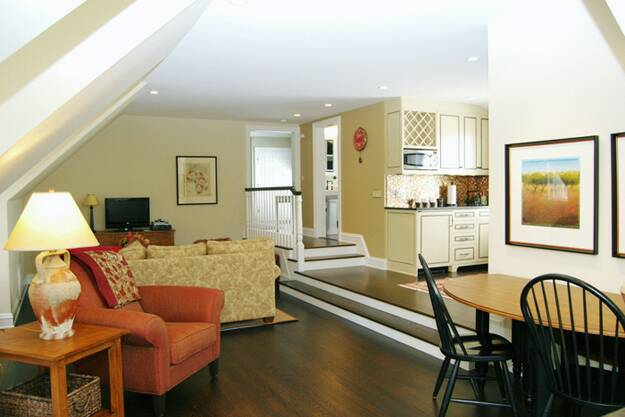 mother in law suite garage renovation ideas - Luxury Guest Stuite Interiors Attic Renovation Interior